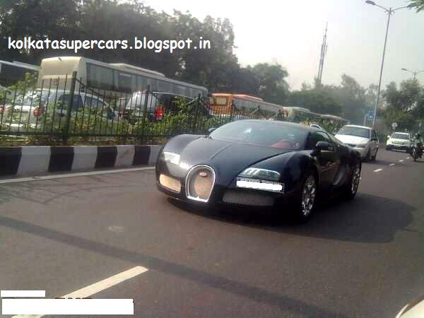Super Cars Kolkata Bugatti Has Been Saw In Mg Road Kolkata
