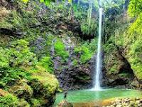 Coban Telagawarna (Air Terjun Pancawarna) Spot Kece di Malang