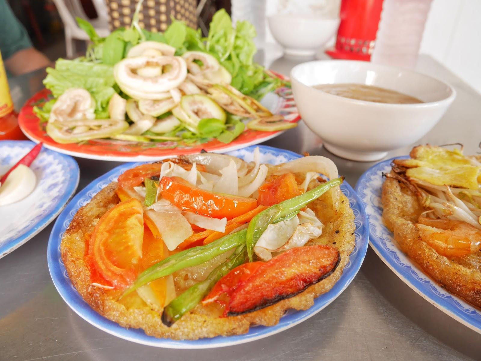 Vegetarian Banh Khoai or Banh Khoai Chay ,Hue, Vietnam