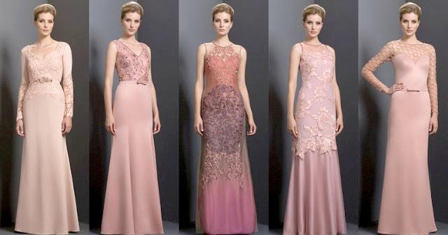 Вечернее платье нежных оттенков