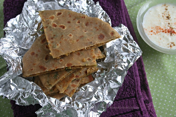 how to make Soya Chunk Paratha | Soya Granules Paratha Recipe