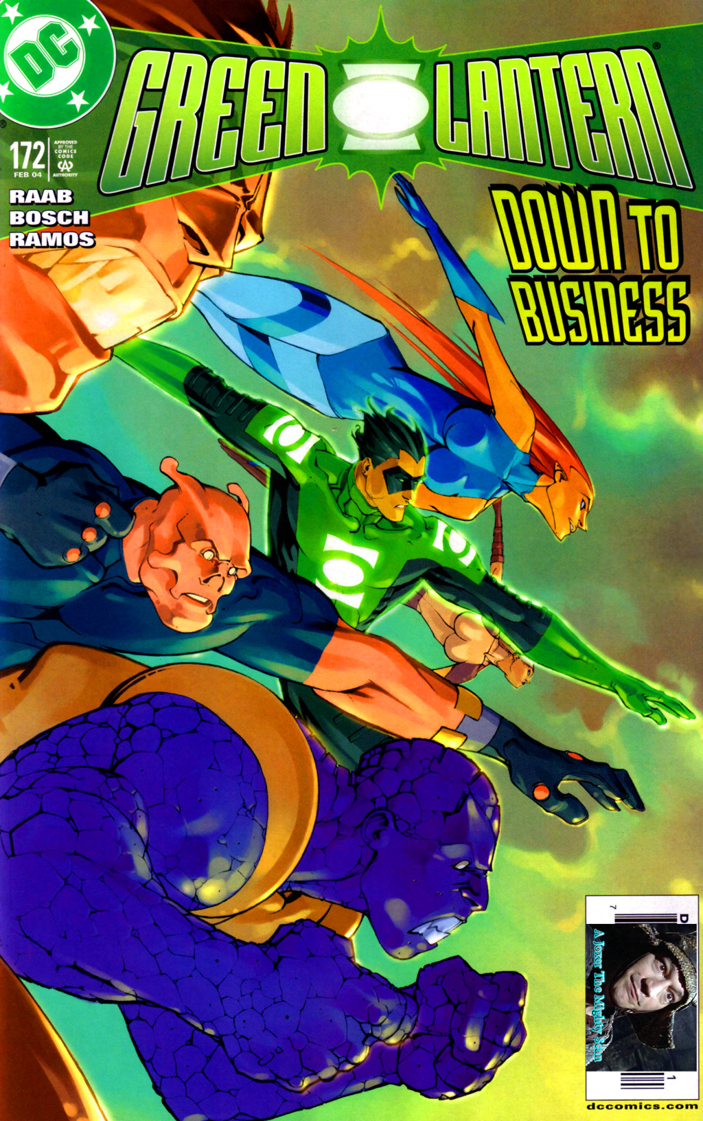 Green Lantern (1990) 172 Page 1