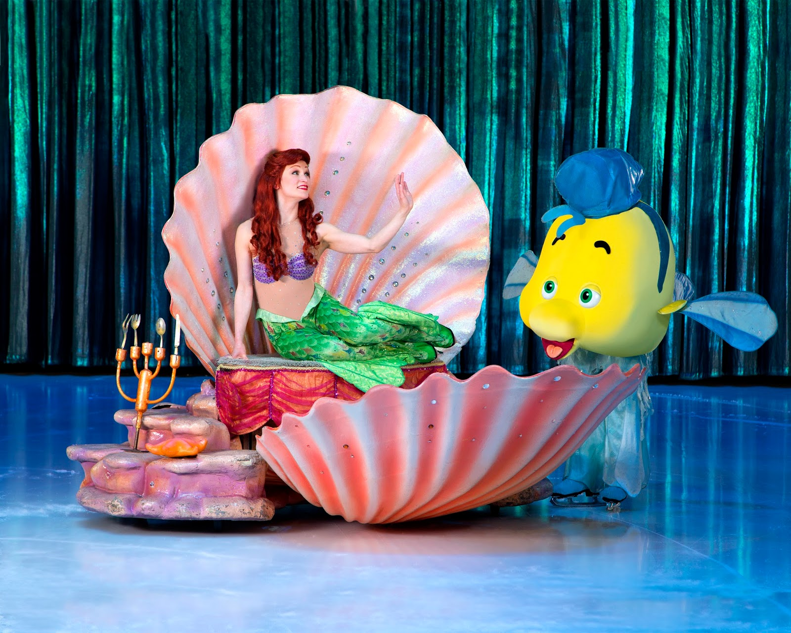 Why Heidi can't wait to watch The Little Mermaid in this year's Disney on Ice presents Passport to Adventure - Ursula