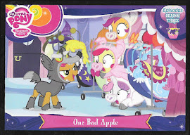 My Little Pony One Bad Apple Series 3 Trading Card