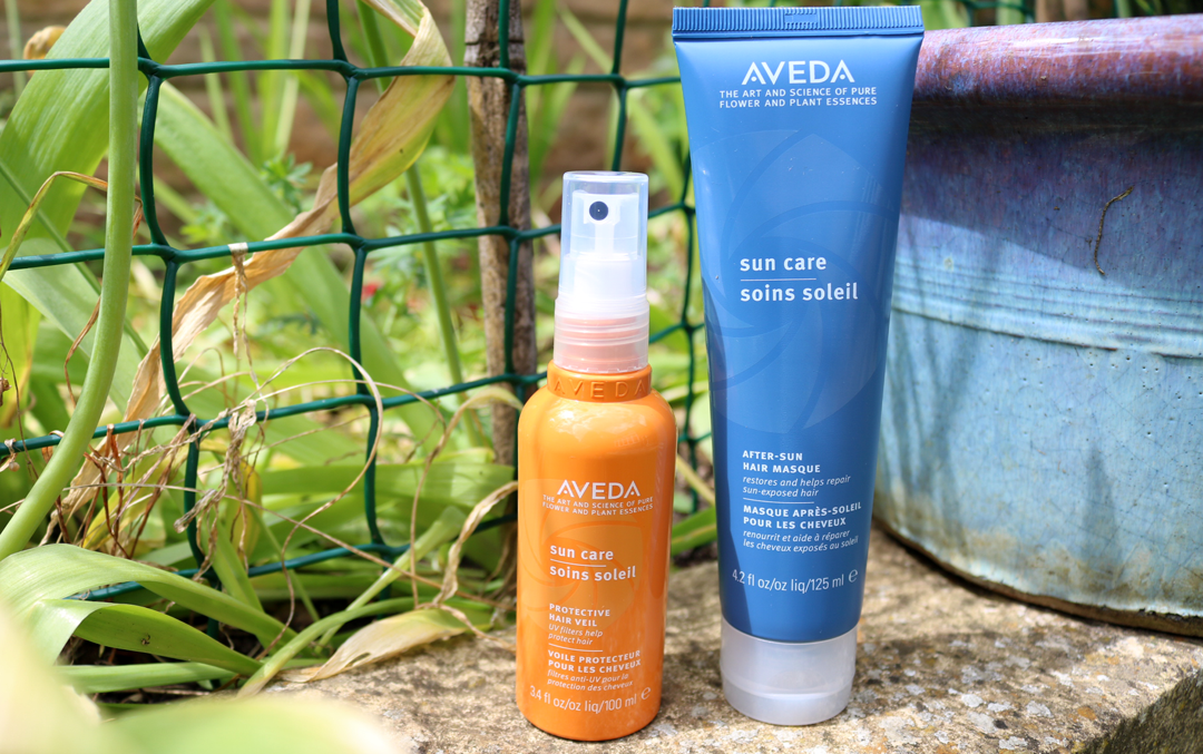Aveda Suncare Protective Hair Veil & After Sun Masque review
