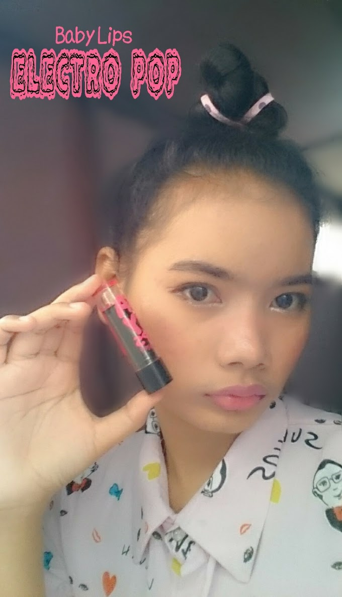 Review Maybelline Baby Lips Electro Pop - Pink Shock