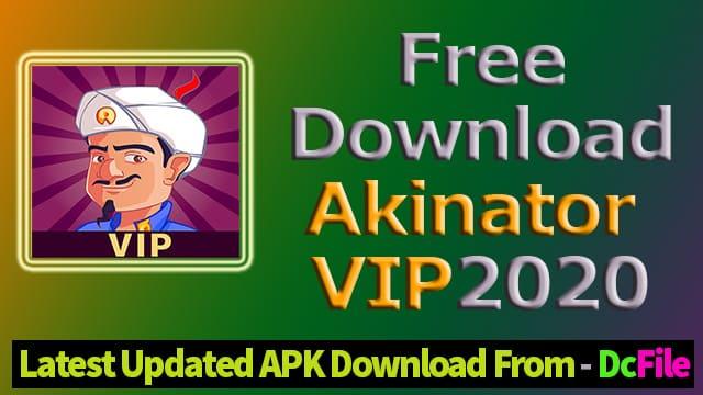 Akinator VIP 7.1.0 Mod ApK 2020 ( Latest version Unlocked ) Free Download Android - DcFile
