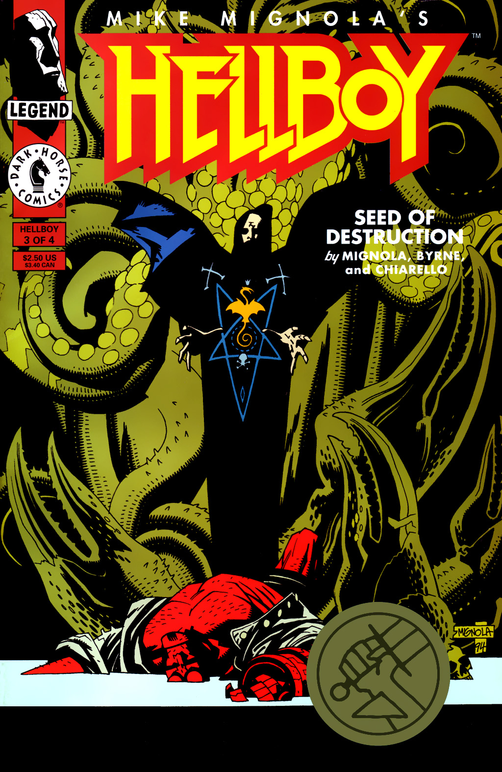 Hellboy: Seed of Destruction 3 Page 1