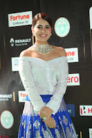 Raashi Khanna in Off Shoulder Top and Blue Skirt Cuteness Overloaded at IIFA Utsavam Awards 2017  HD Exclusive Pics 13.JPG