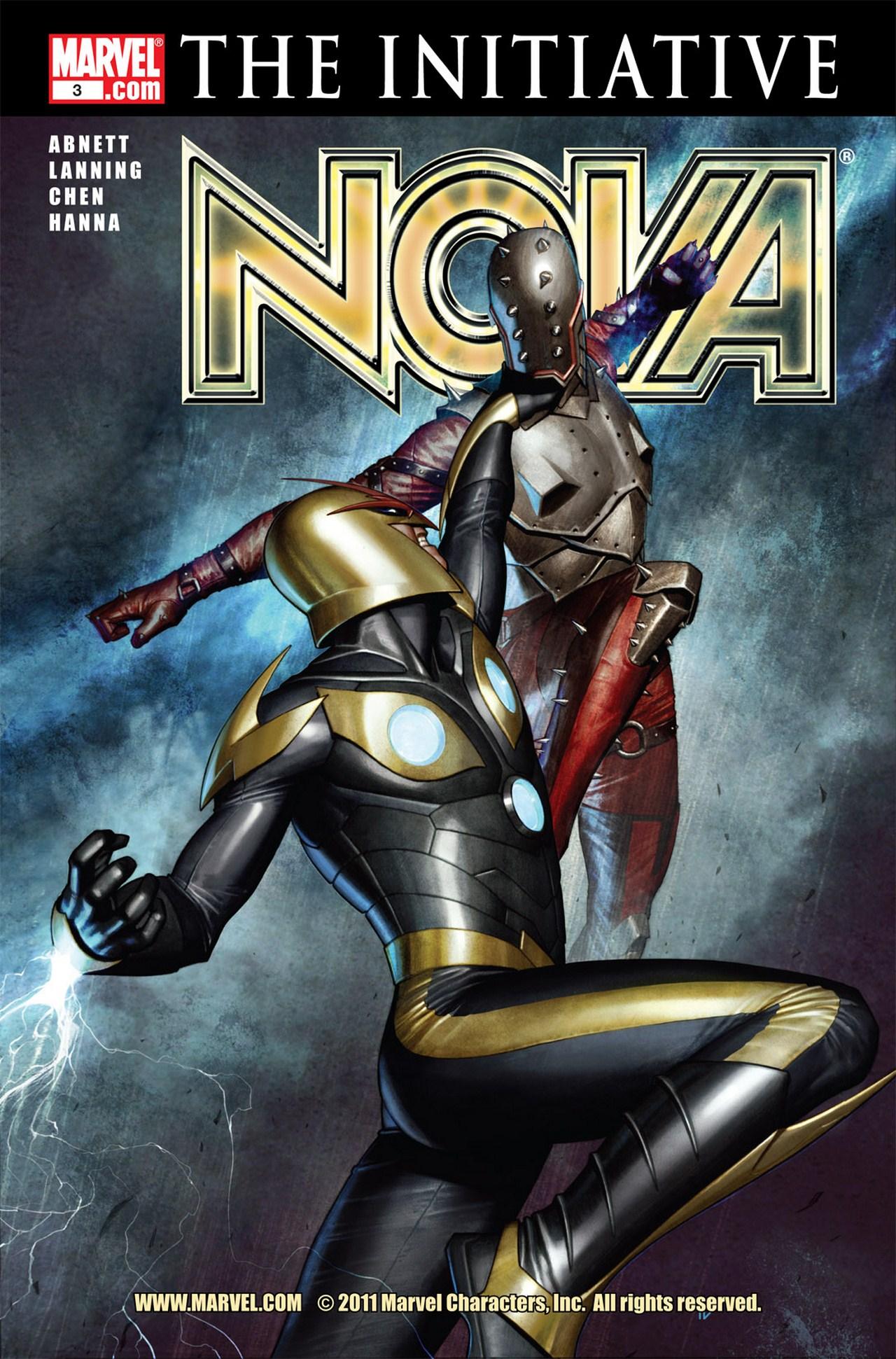 Nova (2007) issue 3 - Page 1