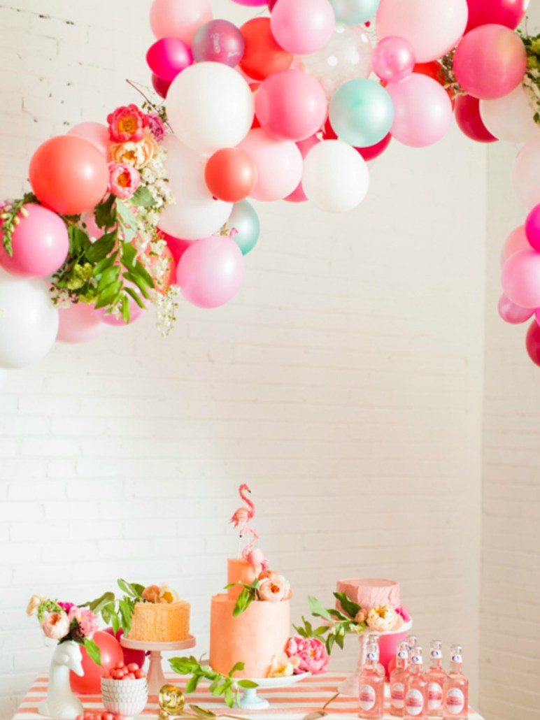 Tatamba blog de decoraci n c mo decorar con globos un - Decorar para un cumpleanos ...