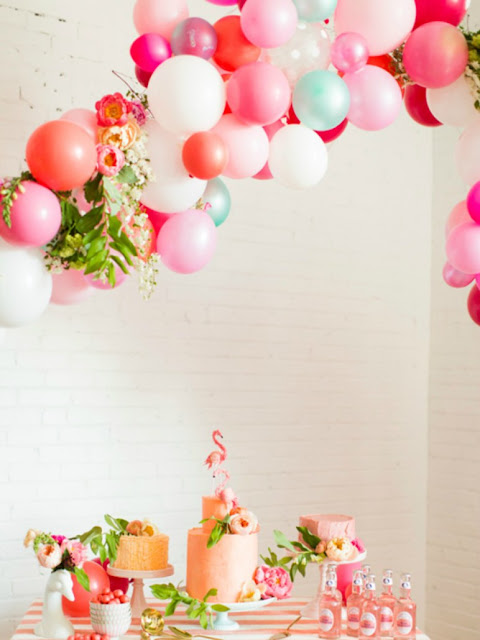 como decorar fiestas con globos