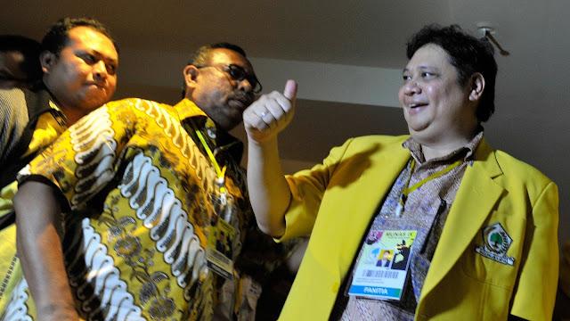 Wasekjen Golkar: Restu Jokowi ke Airlangga Bukan Intervensi Politik