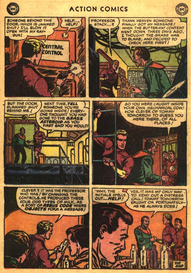 Read online Action Comics (1938) comic -  Issue #201 - 32
