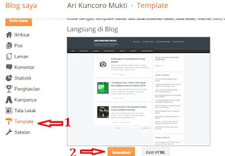 Cara Mengganti Background Blog Di Blogspot Untuk Pemula