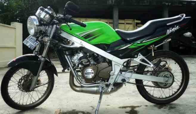 Fungsi dari komponen pada mesin 2 langkah. ninja 2-tak menjadu salah satu motor 2-tak legendaris di indonesia