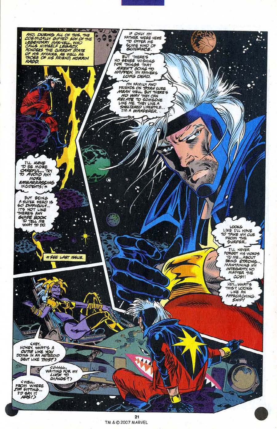 Read online Silver Surfer (1987) comic -  Issue #106 - 23