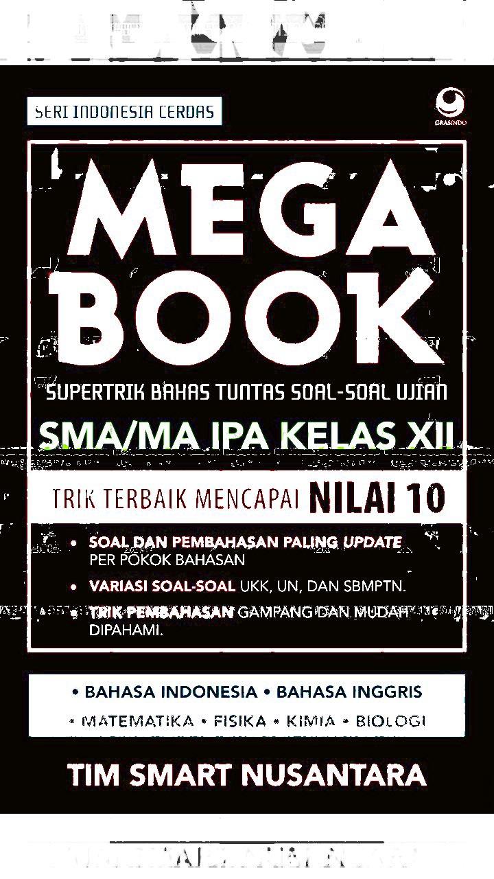 Download Mega Book SMA/MA IPA Kelas XII (Supertrk Bahas Tuntas Soal-Soal Ujian)