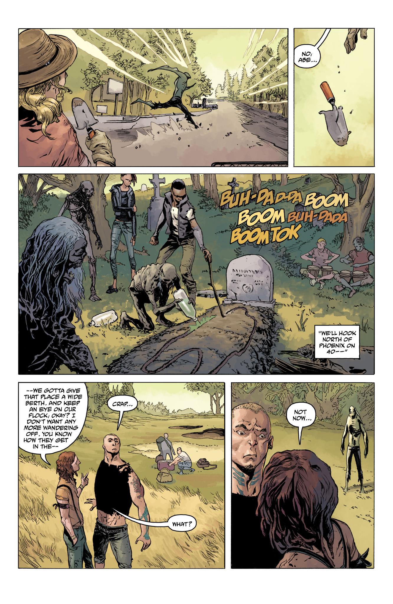 Read online Abe Sapien comic -  Issue #11 - 7