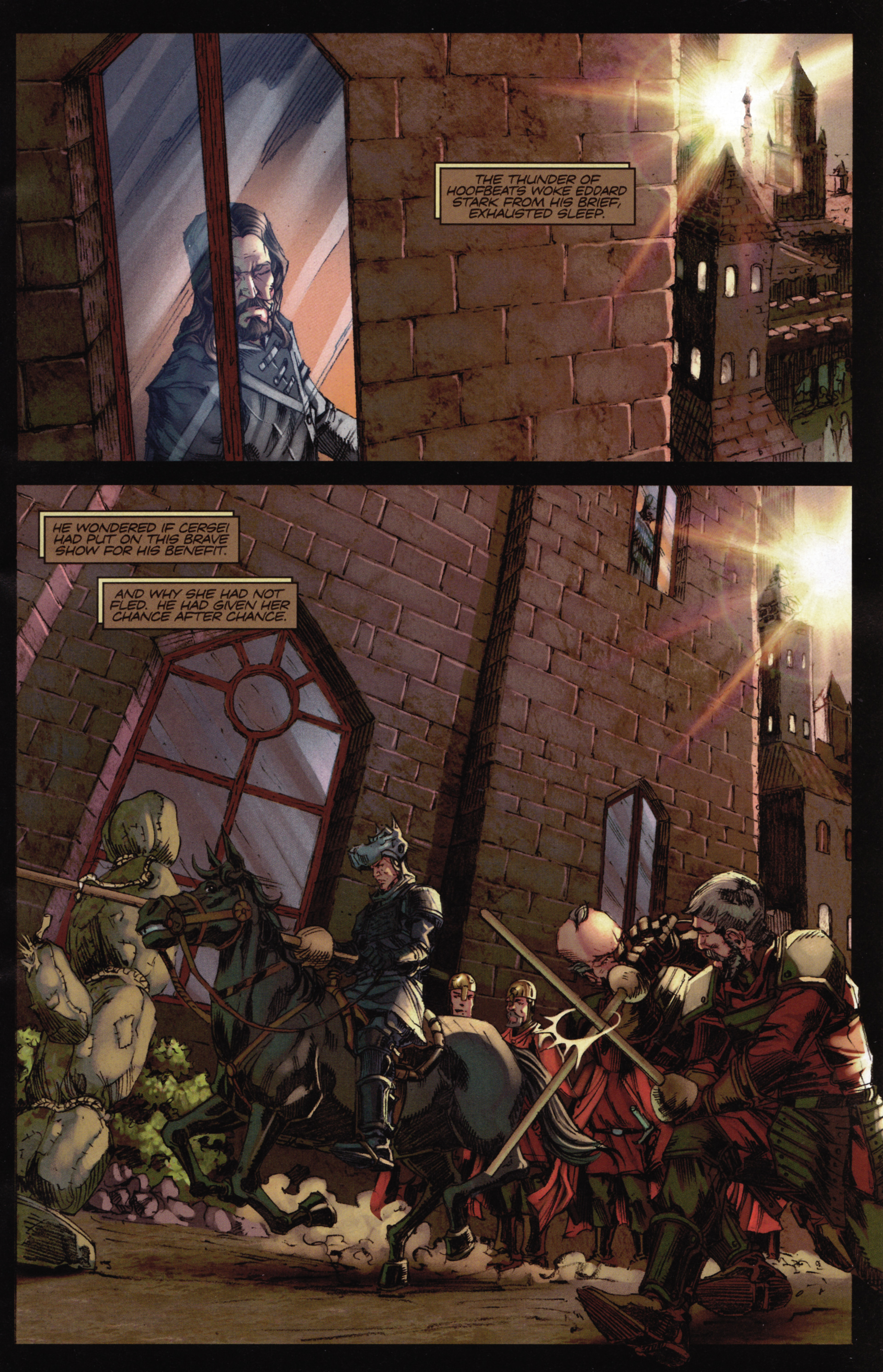 Read online A Game Of Thrones comic -  Issue #16 - 3