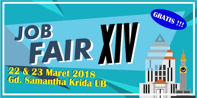 Job Fair XIV Universitas Brawijaya Malang