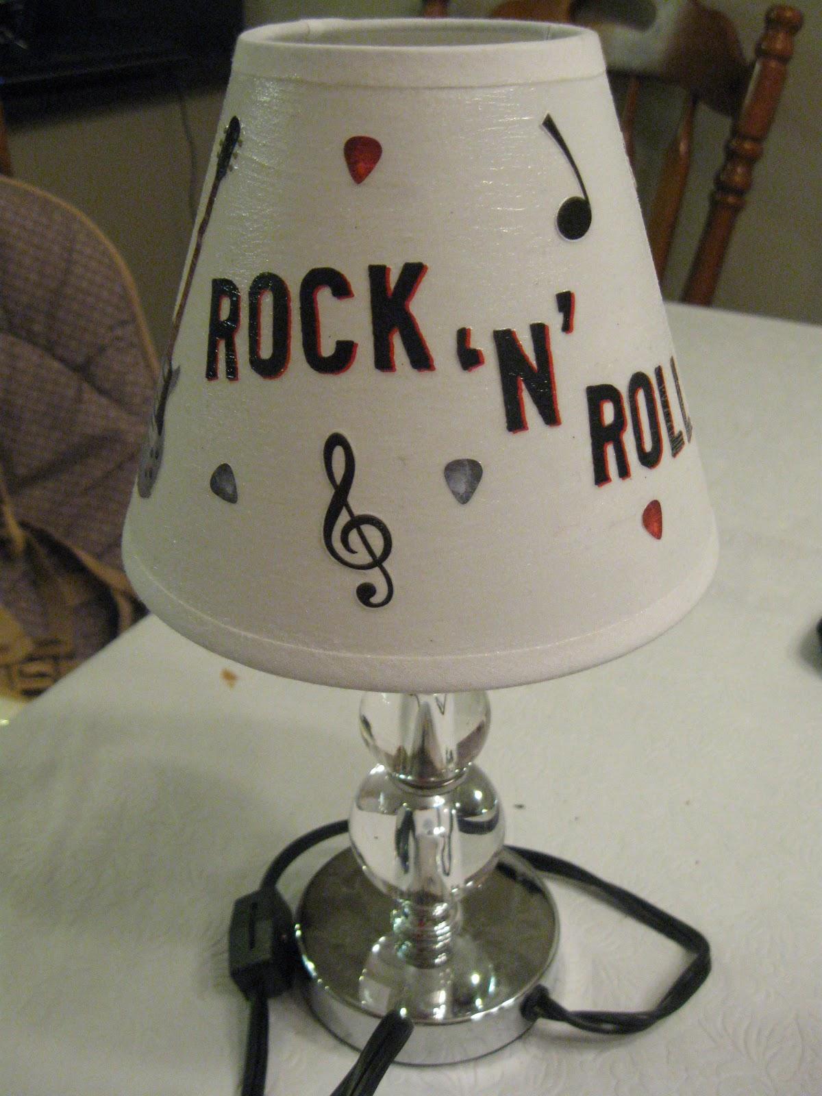 June Buggy Designs Rock N Roll Lamp