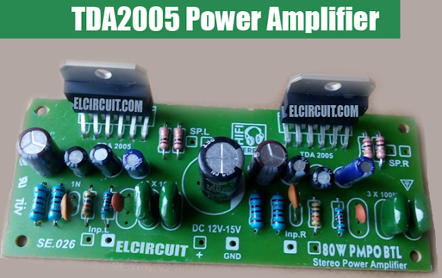 TDA2005 Power Amplifier circuit
