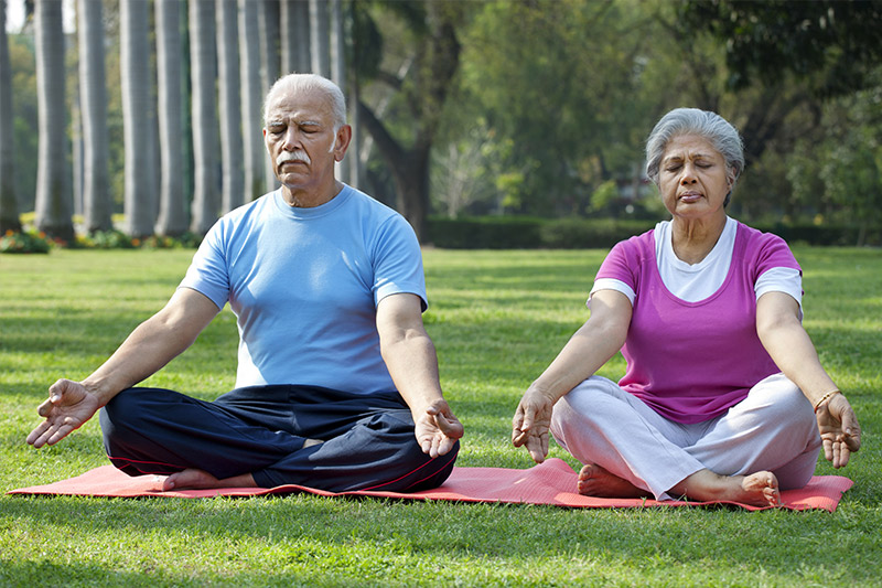 Meditation for Older Adults Health