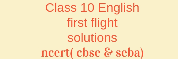 Class 10th English First Flight Chapter 6. The Hundred Dressess 2 answers