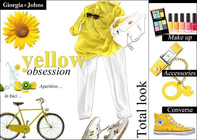 trend, yellow, outfit, look,