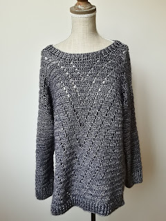 Srebrny sweterek