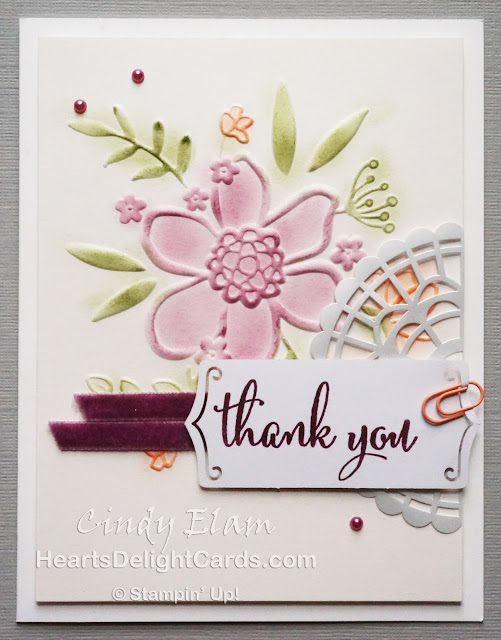 Heart's Delight Cards, Share What You Love Suite, Early Release, Love What You Do, Lovely Floral Dynamic, Stampin' Up!