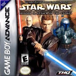 Rom de Star Wars Episodio II: Attack of the Clones - GBA - PT-BR - Download