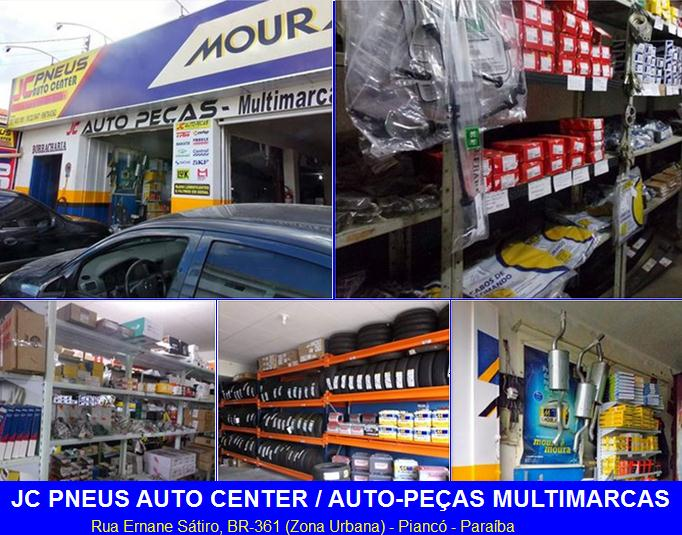 JC PNEUS AUTO CENTER e AUTOPEÇAS MULTIMARCAS
