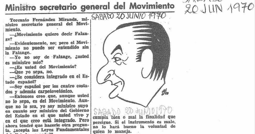 Blog homenaje a Manuel del Arco: Ministro Secretario Gral
