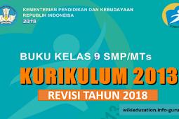 Download Buku Kurikulum 2013 Revisi 2018 Kelas 9 SMP/MTs PDF