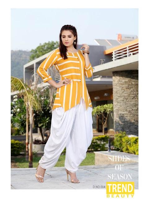 Mirayaa Dhinchak kurtis with Patiyala new Design Wholesale