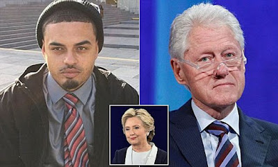 Danney Williams,  Bill Clinton and hillary clinton