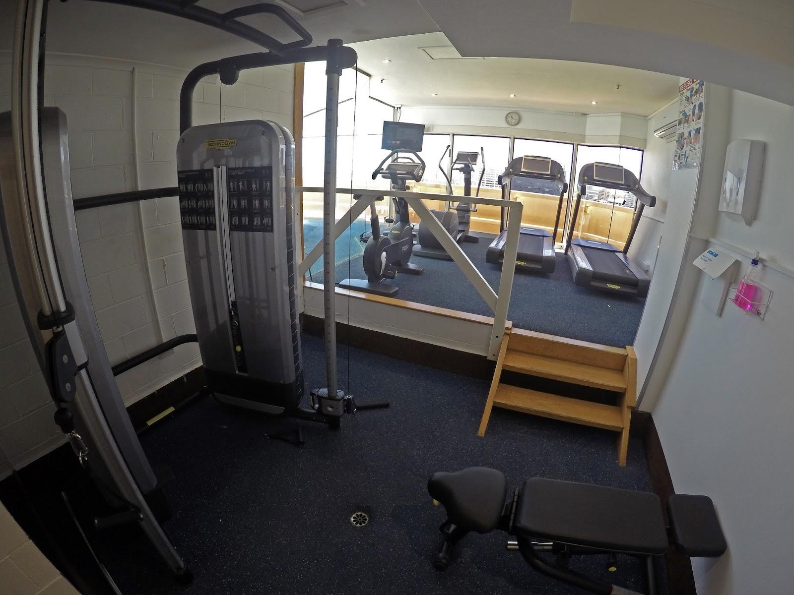 Melbourne Parkview Hotel Gym
