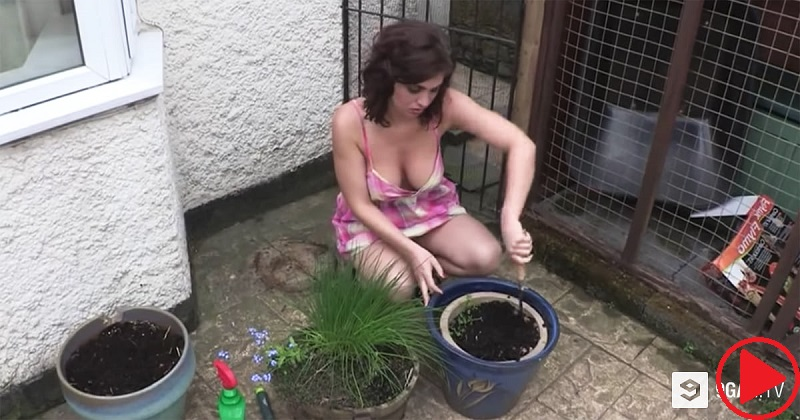 This Video Of A Girl Planting Flowers Has Got Over 8 Million Views In 2 Days