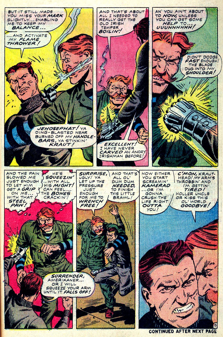 Read online Sgt. Fury comic -  Issue #59 - 21