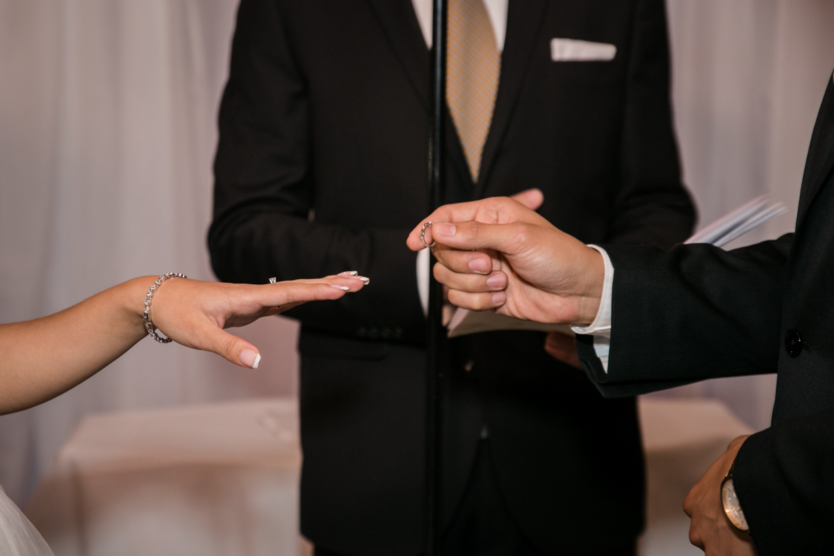 exchanging rings as a seal of love