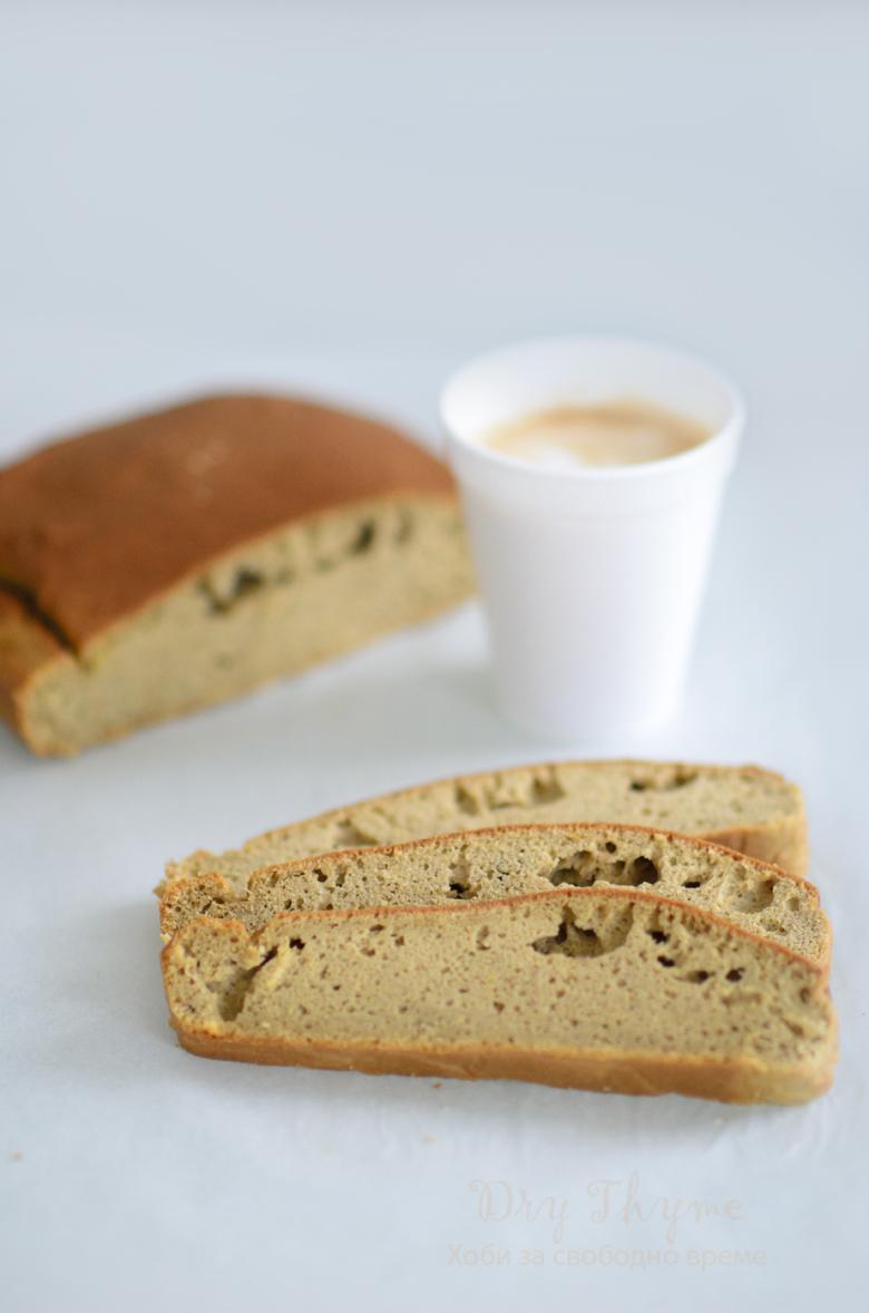 фъстъчен хляб