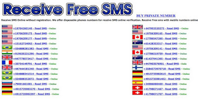 Receive Virtual Free SMS Online