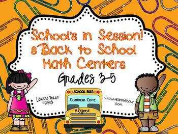 https://www.teacherspayteachers.com/Product/Schools-in-Session-8-Back-to-School-Math-Centers-for-Grades-3-5-783259