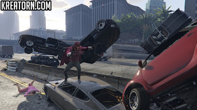 GTA 5 Magneto Days of Future Past MODU