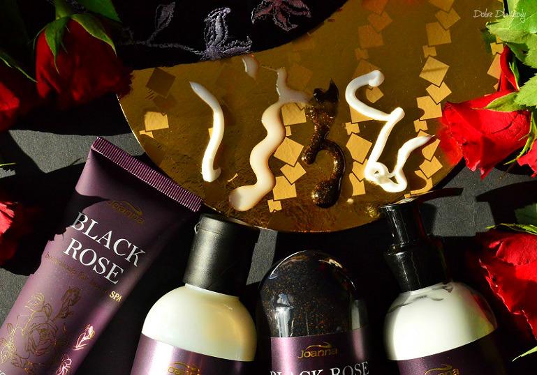 Joanna Botanicals for Home Spa Black Rose - kosmetyki z ekstraktem z Czarnej Róży