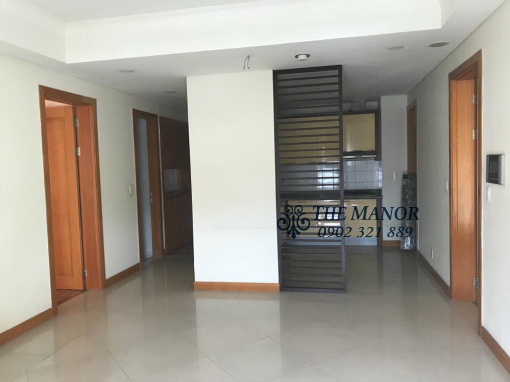 Bán căn hộ The Manor lô A tầng 18 với 2 phòng ngủ - phòng khách vào bếp