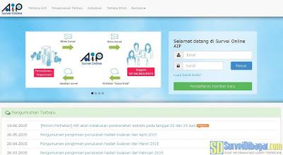Situs AIP Online Survey Indonesia | Survei Dibayar