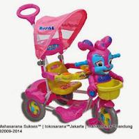 Sepeda Roda Tiga ROYAL RY9882C Baby Roy dengan Pengaman Interaktif